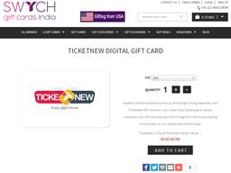 Ticketnew Digital shopping
