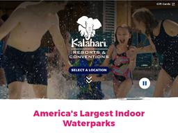Kalahari Resorts & Conventions shopping