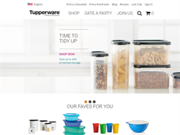 Tupperware shopping