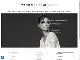 Warren Tricomi shopping