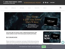 Birkenhead Point gift card purchase