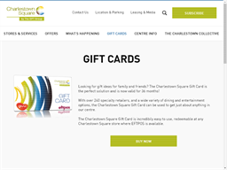 Charlestown Square gift card purchase