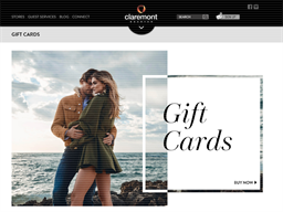 Claremont Quarter gift card purchase