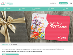 Clifford Gardens gift card purchase