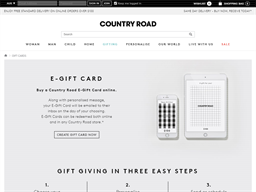 Country Road gift card balance check