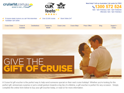Cruise1st Gift Voucher gift card purchase