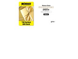 Drakes Christmas Club gift card balance check