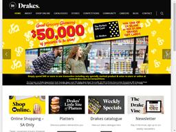 Drakes Christmas Club shopping