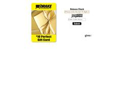 Drakes Supermarkets gift card balance check