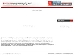 Leading Edge Electronics shopping