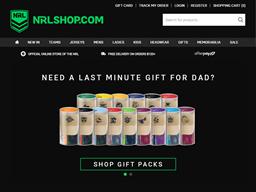 NRL Shop shopping
