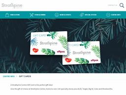 Strathpine Centre gift card purchase