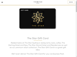 The Star Sydney gift card purchase