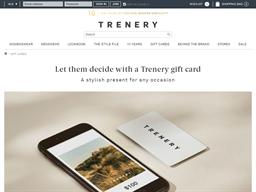 Trenery gift card balance check