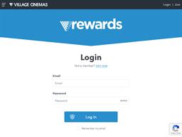 Village Cinemas gift card balance check