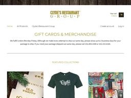 1789 Restaurant gift card purchase
