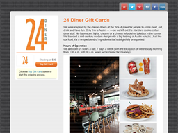 24 Diner gift card balance check