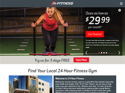 24 Hour Fitness shopping