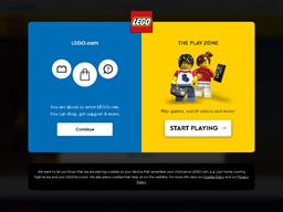 LEGO Shop gift card balance check