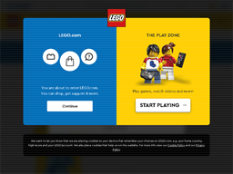 LEGO Shop gift card purchase