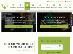 Lettuce Entertain You gift card balance check