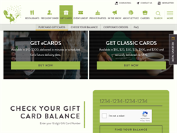 Lettuce Entertain You gift card purchase