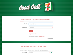 7 Eleven Gift Card gift card balance check
