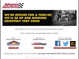 Advance Auto Parts gift card purchase