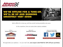 Advance Auto Parts shopping