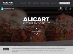 Alicart Restaurant Group shopping