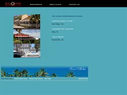 Aloha Restaurants shopping