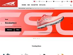 Altra Running shopping