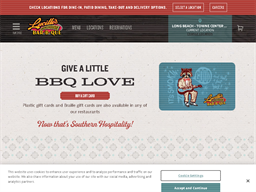 Lucille's BBQ gift card purchase