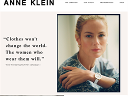 Anne Klein shopping