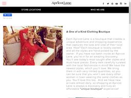 Apricot Lane Boutique shopping