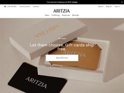 Aritzia gift card balance check