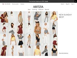 Aritzia shopping