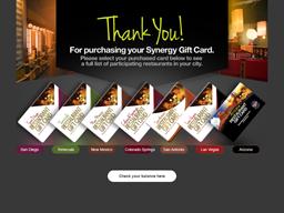 Arizona Restaurant gift card balance check