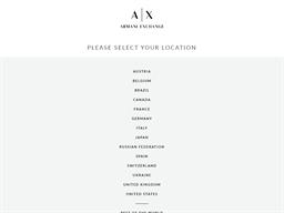 Armani Exchange shopping