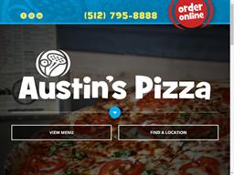 Austin's Pizza shopping