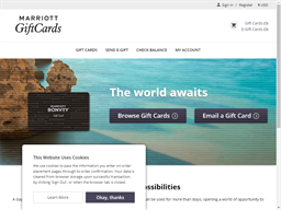 Marriott gift card purchase