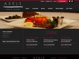 Axel's Restaurant shopping