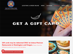 Azteca gift card purchase