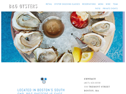 B&G Oysters shopping