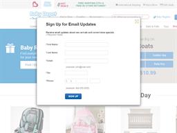 Baby Depot shopping