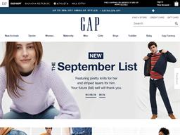 Baby Gap shopping