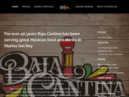 Baja Cantina shopping