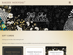 Bakery Nouveau gift card purchase