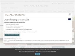Ballard Designs shopping