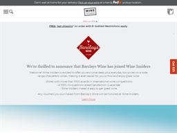 Barclays Wine shopping